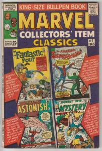 Marvel Collectors' Item #1 (Jan-65) FN/VF Mid-High-Grade Fantastic Four, Mr. ...