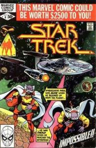 Star Trek (1980 series) #6, VF- (Stock photo)