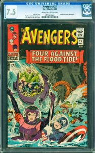 Avengers #27 CGC Graded 7.5 Attuma and Beetle appearance.