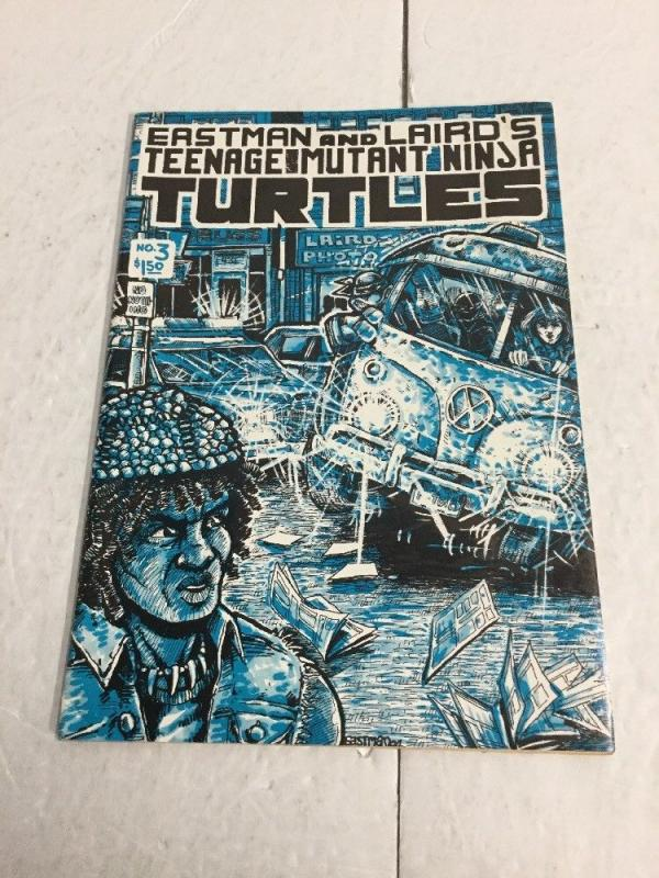 Teenage Mutant Ninja Turtles 3 Vf Very Fine 8.0 Slight Water Damage