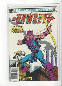 Hawkeye #1 Part 1 of 4  Avengers NM