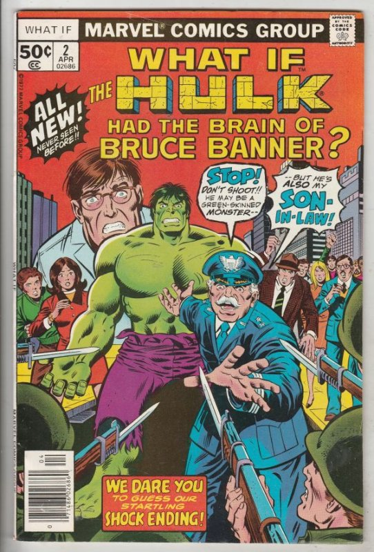 What If #2 (Apr-77) VF/NM High-Grade The Incredible Hulk