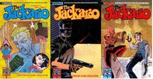 JACKAROO (1990 ET) 1-3  'Australia's Adventure Hero!' COMICS BOOK
