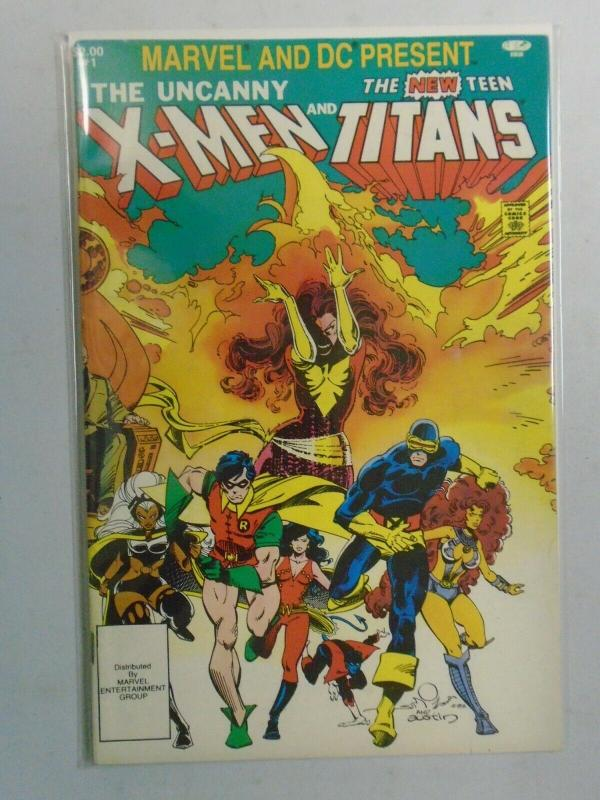 X-Men and the Teen Titans #1 (1982 1st print) 7.0/FN/VF