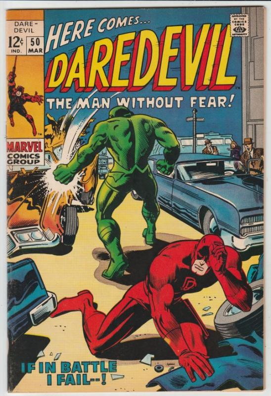 Daredevil #50 (Mar-69) VF/NM High-Grade Daredevil