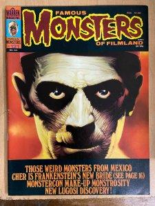 FAMOUS MONSTERS OF FILMLAND #121 (Warren, 12/1975) VF Karloff Mummy Cover