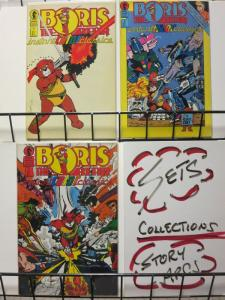 BORIS THE BEAR INSTANT COLOR CLASSICS (1987 DH) 1-3