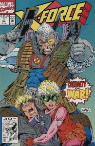 X-Force #7 VF/NM; Marvel | save on shipping - details inside