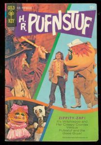 H.R. PUFNSTUF #1 1970-GOLD KEY COMIC-SID & MARTY KROFFT VG