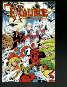 Excalibur Vol. # 1 Marvel Comic Book TPB Graphic Novel The Sword is Drawn J402