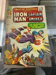 Tales of Suspense 76 FN (April 1966)  2nd App. Batroc, 1st Cover, 1st Ultimo App