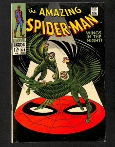 Amazing Spider-Man #63 VG/FN 5.0 Vulture!