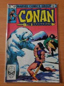 Conan the Barbarian #145 (1983)