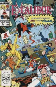 Excalibur #5 VF/NM; Marvel | save on shipping - details inside