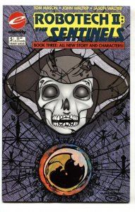 Robotech II: The Sentinels Book 3 #5 Eternity low print run comic book