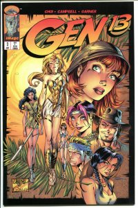 GEN 13 #3, NM+, Good Girl, Scott Campbell, 1995, more in store