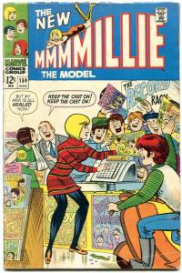 Millie the Model #159 1968- Record store cover- Marvel VG