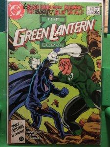 Green Lantern #206 Corps