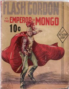 FLASH GORDON VS. THE EMPEROR OF MONGO-FAST ACTION BOOK VG
