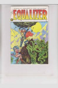 The EQUALIZER #1, VF, 2nd, Kirk Kennedy, 1980, Underground, Everyman