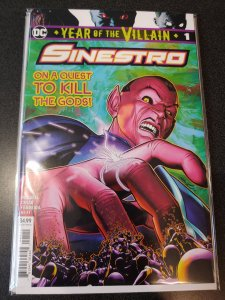 ​SINESTRO #1 NM YEAR OF THE VILLIAN