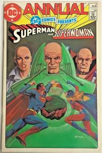 DC COMICS PRESENTS ANNUAL#4 VF 1985 DC BRONZE AGE COMICS