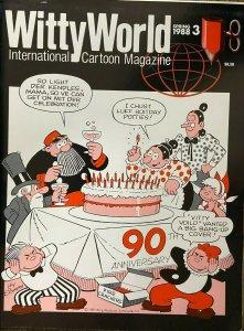 WITTYWORLD #3 (Spring 1988) Ralph Bakshi, Morrie, Katzenjammer Kids 90th