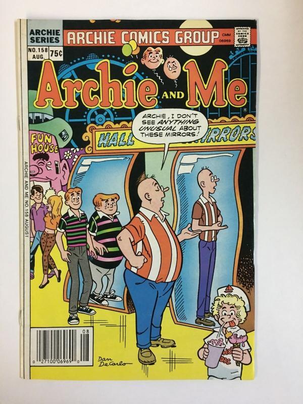 ARCHIE & ME (1964-1987)158 VF-NM  Aug 1986 COMICS BOOK