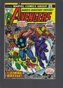 The Avengers #122 (1974)