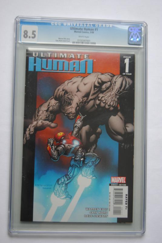 Ultimate Human 1,  8.5