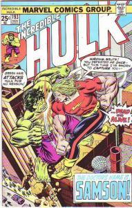 Incredible Hulk #193 (Nov-75) VG/FN- Mid-Grade Hulk