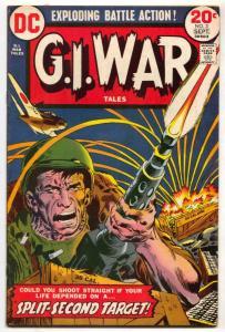 G.I. War Tales #3-1973-DC bronze age comic FN