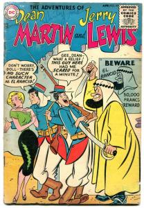 Adventures of Dean Martin and Jerry Lewis #20 1955- El Rancid- DC Silver Age VG