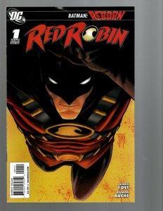 12 DC Comics Red Robin # 1 2 3 4 5 6 7 8 9 10 11 12 J439