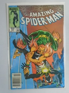 Amazing Spider-Man #257 News Stand edition 6.0 FN (1984 1st Series)