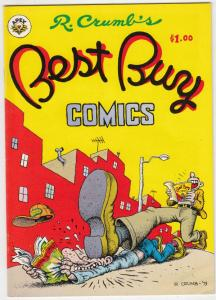 R. Crumb's Best Buy #1 (Feb-79) VF High-Grade R. Crumb, the Goose and the Gan...