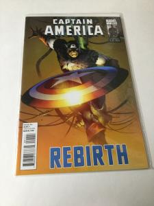 Captain America Rebirth 1 One Shot NM Near Mint Marvel