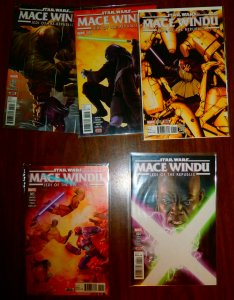 Star Wars  : Mace Windu   #1-5 (complete set)