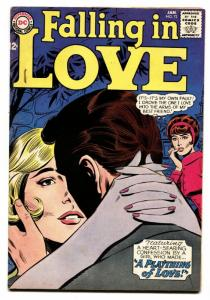 FALLING IN LOVE #72 '64-DC ROMANCE COMIC-LOVE PLAYTHING