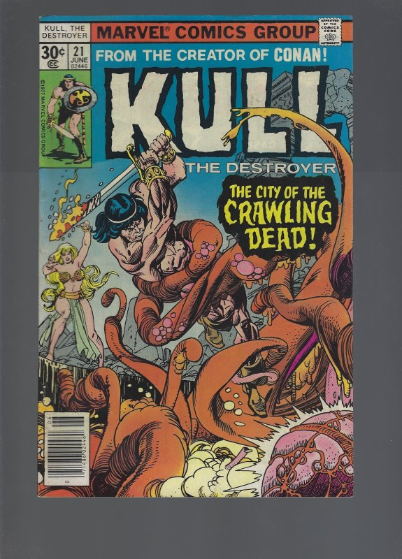 Kull the Destroyer #21 (1977)