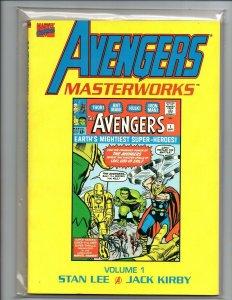 Avengers Masterworks volume 1 TPB - Stan Lee - Jack Kirby - New