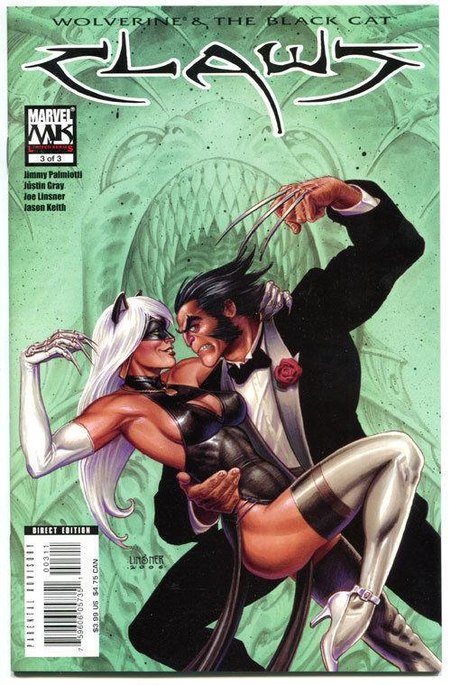 CLAWS #1 2 3, NM, Joseph Linsner, Wolverine, Black Cat, 2006, more in store