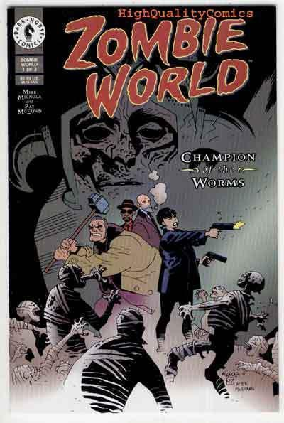 ZOMBIE WORLD ; CHAMPION of the WORMS #1, NM, Mike Mignola, more Horror in store