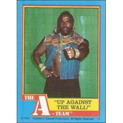 1983 Topps The A-Team UP AGAINST THE WALL! #5