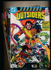 DC SET of 26- SPECIAL OUTSIDERS #1-#26 +Special #1 & Annual #1 F/VF  (PF99)