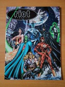 Riot Magazine #0 Justice League Batman ~ NEAR MINT NM ~ 1997 DC Comics