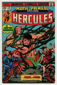 Marvel Premiere 26 FN 6.0 Hercules Marvel Uncertified 1975 FREE SHIP