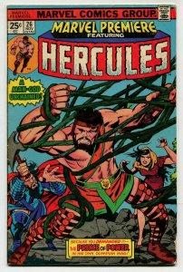 Marvel Premiere 26 FN 6.0 Hercules Marvel Uncertified 1975 FREE SHIP
