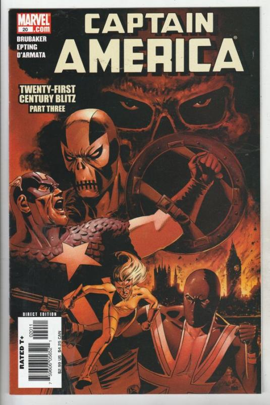 Captain America #20 (Aug-06) NM Super-High-Grade Captain America