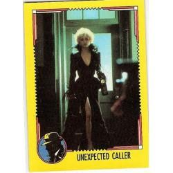 1990 Topps DICK TRACY-UNEXPECTED CALLER #45